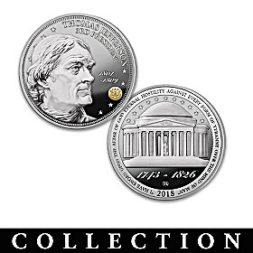 The Thomas Jefferson Legacy Proof Coin Collection