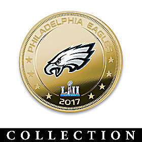 Eagles Super Bowl LII Champions Dollar Coin Collection