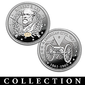 The Greatest Civil War Generals Proof Coin Collection