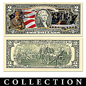 The All-New JFK Legacy $2 Bills Currency Collection