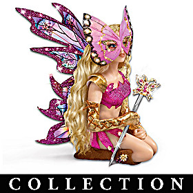 Mystical Warriors Wear Pink Fantasy Doll Collection
