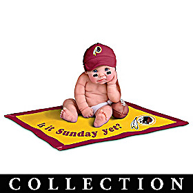 Washington Redskins Commemorative Baby Doll Collection