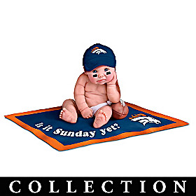 Denver Broncos #1 Fan Commemorative Baby Doll Collection
