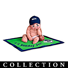 Seattle Seahawks #1 Fan Baby Doll Collection