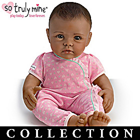 Black Hair, Brown Eyes, Dark Skin Doll & More Collection