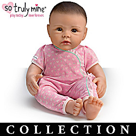 Black Hair, Brown Eyes Doll & More Collection