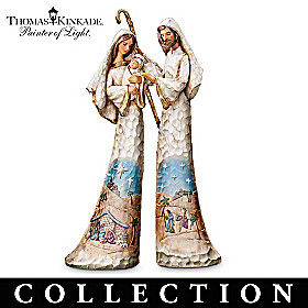 Thomas Kinkade Elegant Blessings Figurine Collection