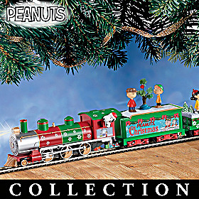The PEANUTS Christmas Express Train Collection