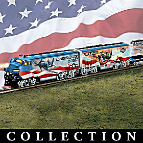 America's Freedom Flyers Train Collection