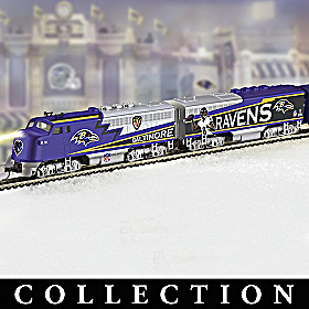 Baltimore Ravens Express Train Collection