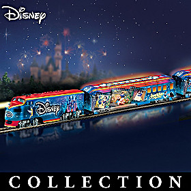 Disney Movie Magic Express Train Collection