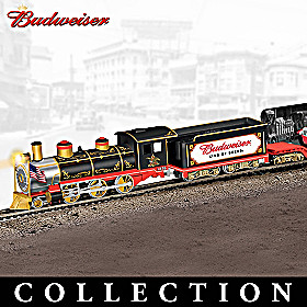 Budweiser Delivers Through The Years Train Collection