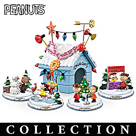 PEANUTS Very Merry Christmas Sculpture Collection