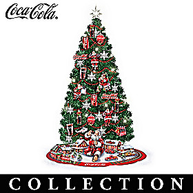 COCA-COLA Refreshing Your Holidays Christmas Tree Collection
