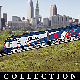 Cleveland Indians Express Train Collection