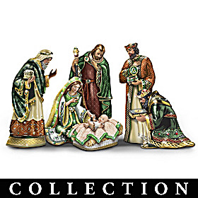 Irish Blessings Jeweled Nativity Collection