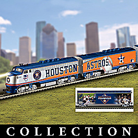 Houston Astros Express Train Collection