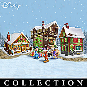 Disney Mickey's Christmas Carol Village Collection