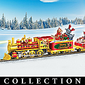 Meowy Christmas Express Train Collection
