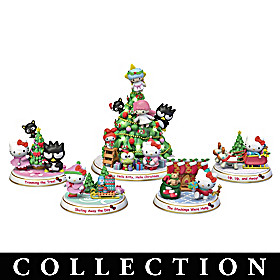 Hello Kitty Holiday Tree Sculpture Collection