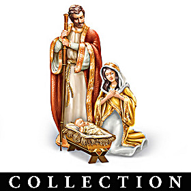 Heaven's Golden Blessing Nativity Collection