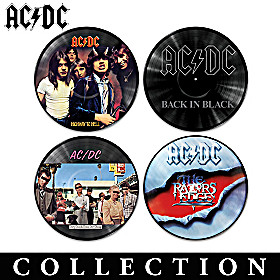 AC/DC Vinyl Revolution Wall Decor Collection