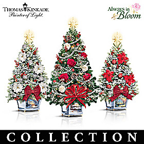 Thomas Kinkade Tabletop Christmas Tree Collection