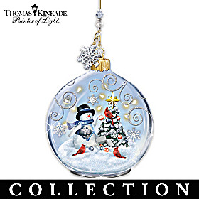 Thomas Kinkade Winter Delights Ornament Collection