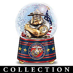USMC Pride Glitter Globe Collection