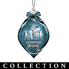 Philadelphia Eagles Super Bowl LII Ornament Collection
