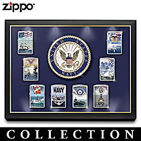 The United States Navy® Zippo® Lighter Collection