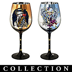 Wings Of Enchantment Wine Glass Collection