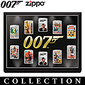 James Bond 007™ Zippo® Lighter Collection