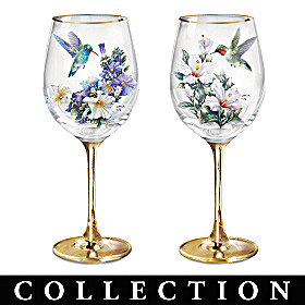 Garden Treasures Wine Glass Collection