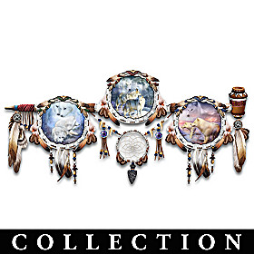 The Spirit Of The White Wolf Collector Plate Collection