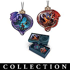 Firestorm Legends Ornament Collection