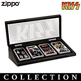 KISS® Rock Legends Zippo® Lighter Collection