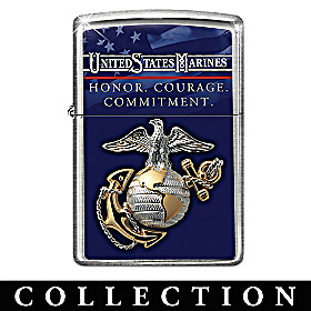 USMC Zippo® Lighter Collection