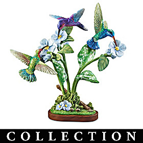 Birds And Blossoms Sculpture Collection
