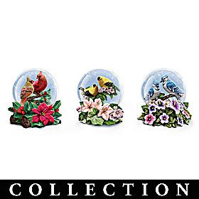 Songbird Serenity Glitter Globe Collection
