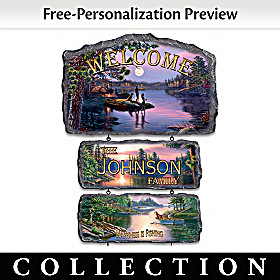 The Best Memories Personalized Welcome Sign Collection