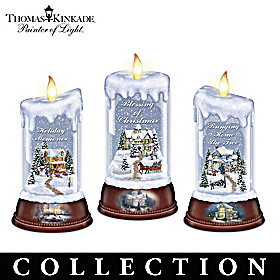 Thomas Kinkade Moments Of Joy Candle Collection