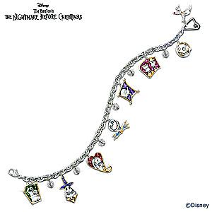 "Tim Burton's ""The Nightmare Before Christmas"" Charm Bracelet"
