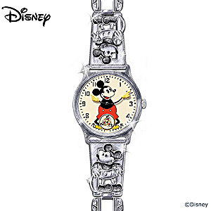 Replica Of First Mickey Mouse Watch From 1933