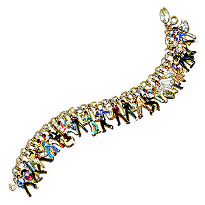 The Ultimate Elvis® Bracelet With 37 Charms