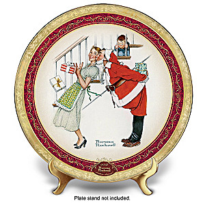 "Norman Rockwell ""Christmas Surprise"" 2018 Collector Plate"