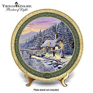 Thomas Kinkade 2019 Annual Collector Plate