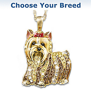 """Best In Show"" Pendant With Swarovski Crystals"