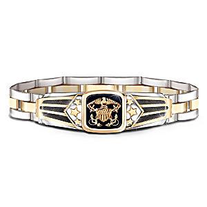 """""""Show Your Pride"""" U.S. Navy Men's Bracelet"""