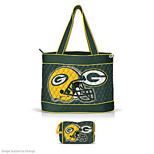 Green Bay Packers Tote Bag With Accessory Case
